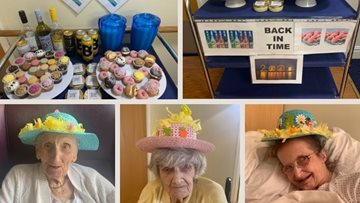 Surprise sweet trolley and Easter Bonnet making from Westwood Lodge